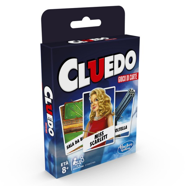 Classic card games - cluedo