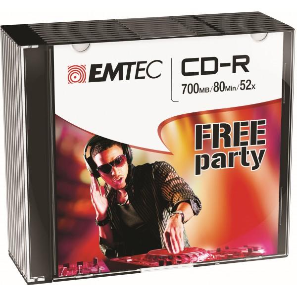 Emtec cd-r 700mb 80min 10pz