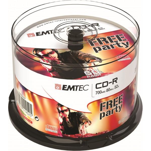 Emtec cd-r 700mb 80min 50pz