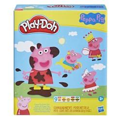 Playdoh peppa pig playset