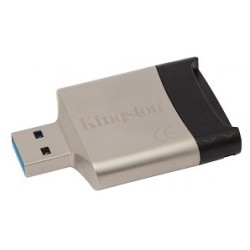Kingston fcr-mlg4 lettore card usb3.0 colore silver