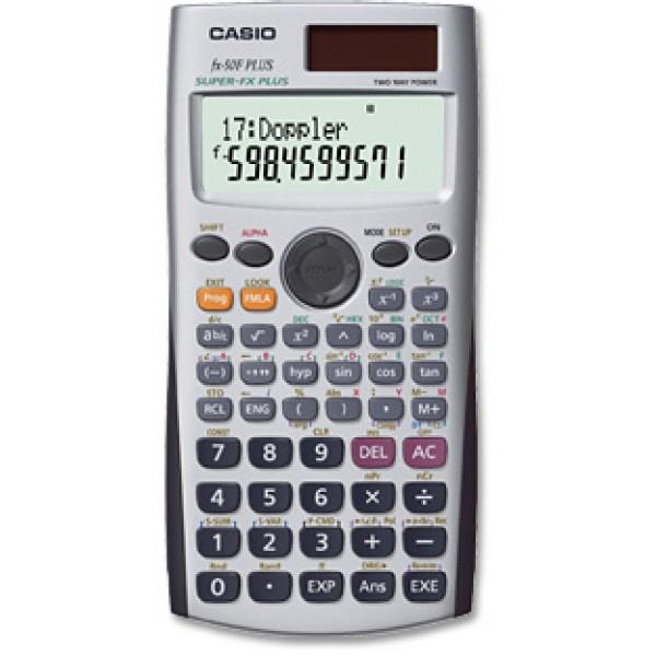 Casio fx-50f plus calcolatrice programmabile colore grigio