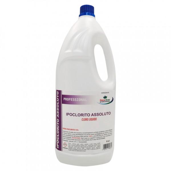 Ipoclorito 15% professionale colore incolore