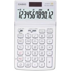 Casio jw-200tv-we calcolatrice da tavolo colore bianco
