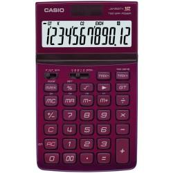 Casio jw-200tw-rd calcolatrice da tavolo colore rosso