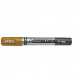 Marcatore gratuate mark all colore oro tipo punta tonda