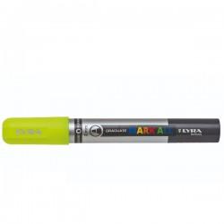 Marcatore gratuate mark all colore giallo fluo tipo punta tonda