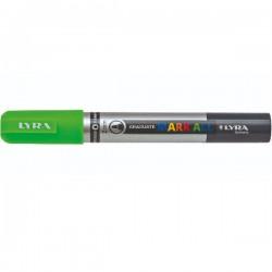 Marcatore gratuate mark all colore verde fluo tipo punta tonda