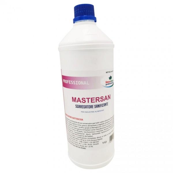 Mastersan sgrassatore battericida haccp colore incolore