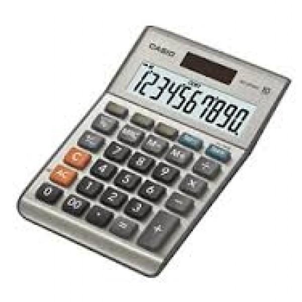Casio ms-100bm calcolatrice da tavolo colore grigio
