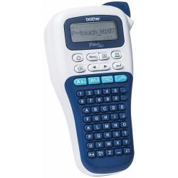 Pth107 etichettatrice palmare portatile per casa e ufficio - utilizza nastri serie tze da 3.5mm a 12mm. tastiera abc colore nero