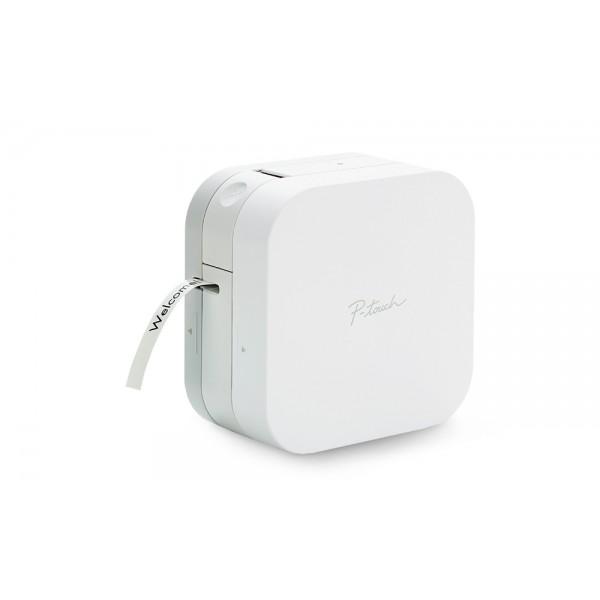 P-touch cube pt300bt colore bianco