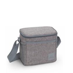 Borsa portapranzo termica 5,5lt  colore grigio