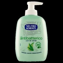 Roberts - sapone liquido active  colore verde