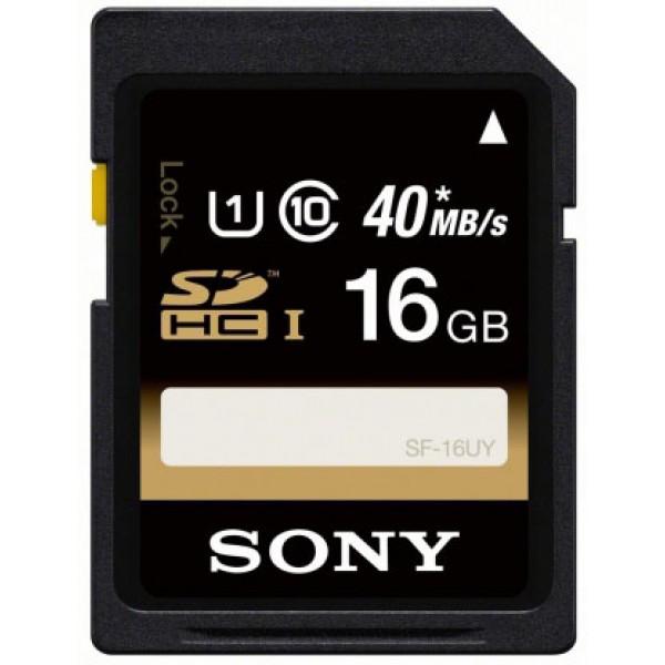 Sony sd 16gb classe 6  colore nero