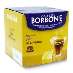 16 capsule the limone dolce gusto, compatibili con macchina uso domestico nescafè dolce gusto