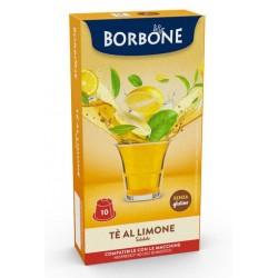 10 capsule the limone respresso, compatibili con macchina uso domestico nespresso