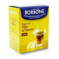 16 capsule the limone a modo mio, compatibili con macchina uso domestico lavazza a modo mio