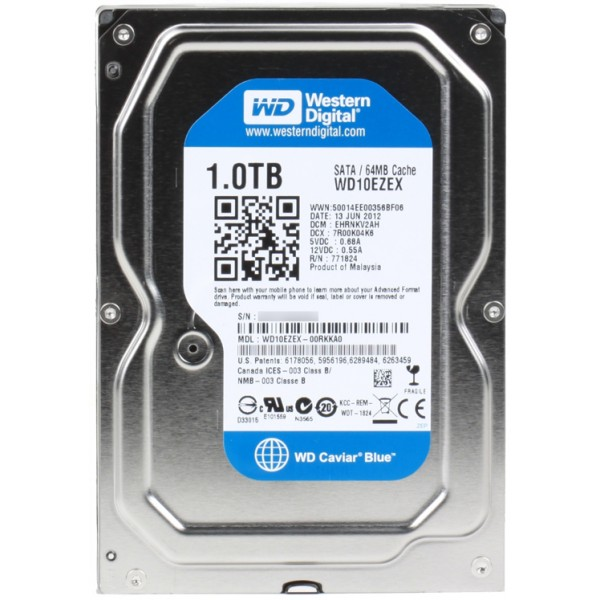 Wd blue hdd interno 1tb
