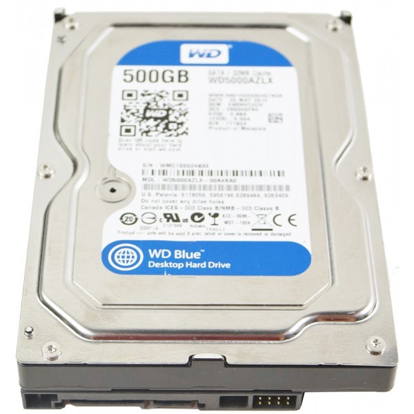 Wd blue hdd interno 500gb