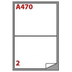 Etichette adesive in fogli a4 - multiuso colore bianco