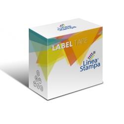 Etichette compatibili per spedizioni/ badge, per labelwriter colore nero su bianco